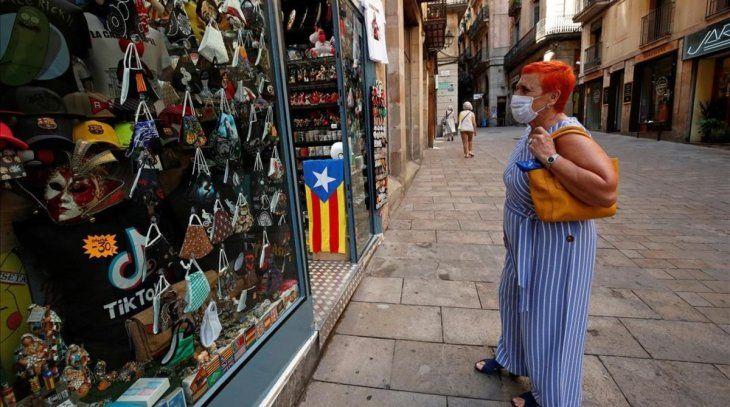Cataluña concentra la mayoría de los nuevos contagios de coronavirus en España.