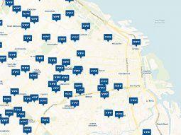 El mapa de Energía actualiza en tiempo real los precios de los combustibles de todas las estaciones de servicio delpaís.