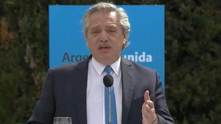 El presidente Alberto Fernández envió un fuerte mensaje a los que delinquen en la provincia de Buenos Aires.