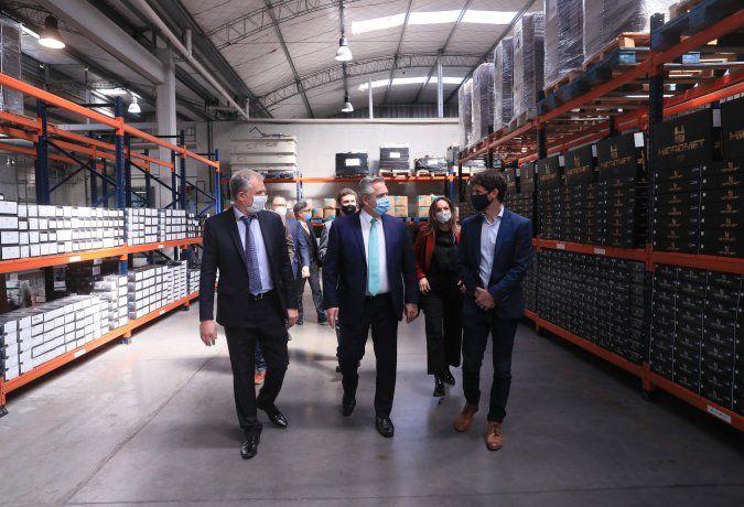 El presidente Alberto Fernández encabezó el anuncio del nuevo programa de Precios Cuidados para la Construcción.