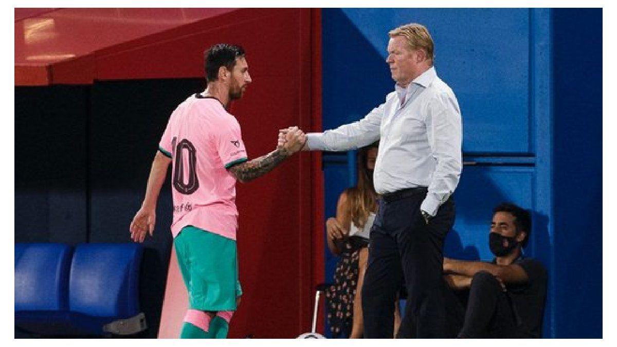 Koeman contó cómo convenció a Messi de quedarse en Barcelona | Messi, Koeman, Barcelona
