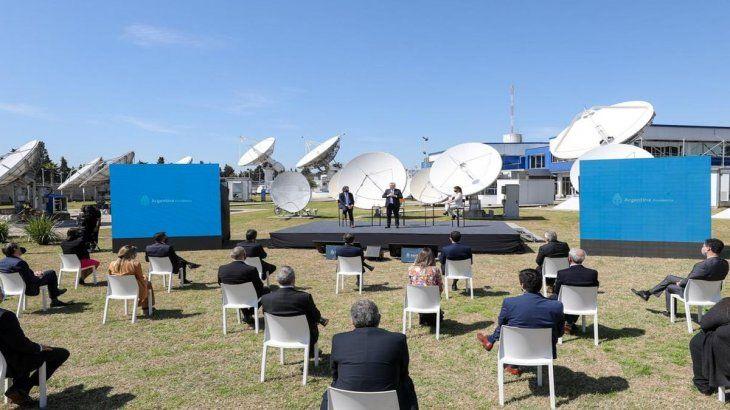 El desarrollo del nuevo satélite fue anunciado junto al Plan Conectar.