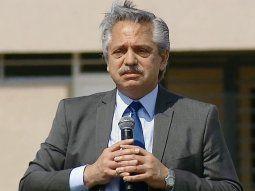 Alberto Fernández, durante el acto virtual de entrega de viviendas Procrear en cinco provincias.