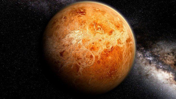 Venus es similar a laTierra en cuanto a tamaño