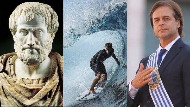 Aristóteles, el surf, Lacalle Pou y el devenir en político