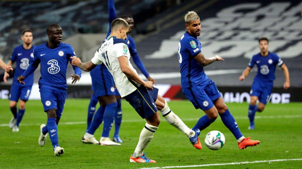 Lamela, héroe en la clasificación de Tottenham ante Chelsea | Tottenham, Chelsea, Lamela