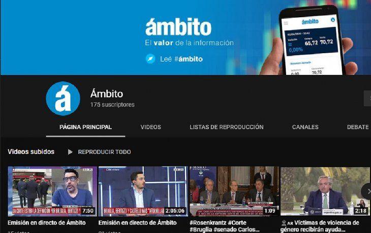 Seguí en VIVO la entrevista a Martín Guzmán en el canal de YouTube de Ámbito
