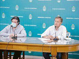 decisión. El mendocino Rodolfo Suarez confirmó ayer que la provincia no volverá a la Fase 1 de aislamiento.