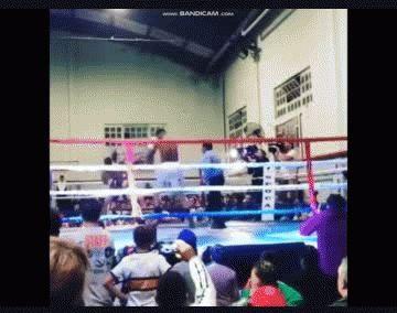 Migliore debutó como boxeador profesional: mirá cómo le fue