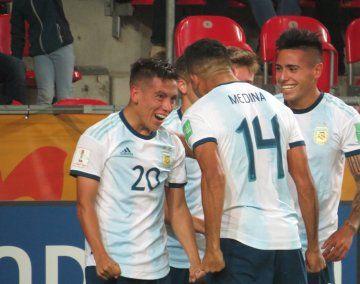 Argentina inició el Mundial Sub 20 con una goleada y una actuación muy sólida