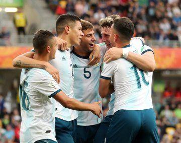 La Sub 20 logró un gran triunfo ante Portugal y selló su pase a octavos