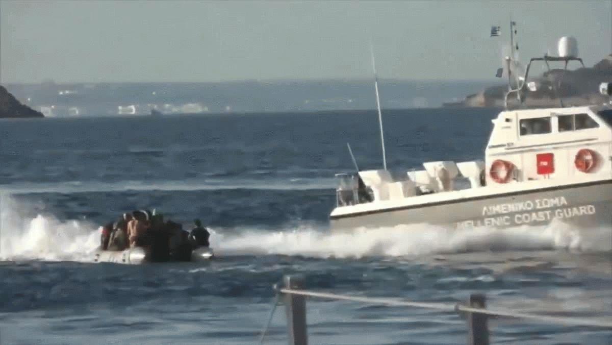 Grecia: Guardia Costera disparó a barco con migrantes para evitar que ingresen al país