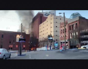 Pánico en EEUU: hubo una explosión en Nashville y creen que pudo ser un atentado
