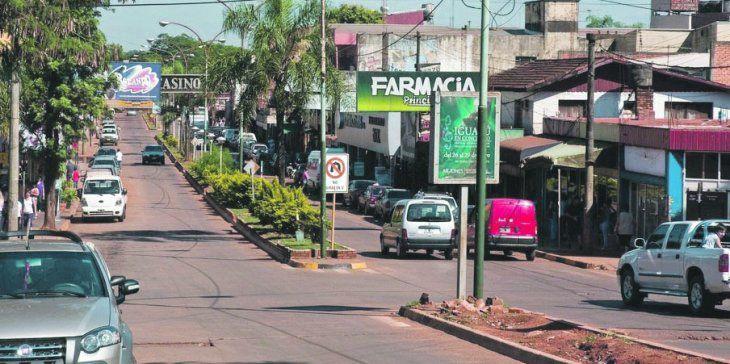 Escenario. La caída en las ventas genera una situación dramática para los comercios de esta ciudad.
