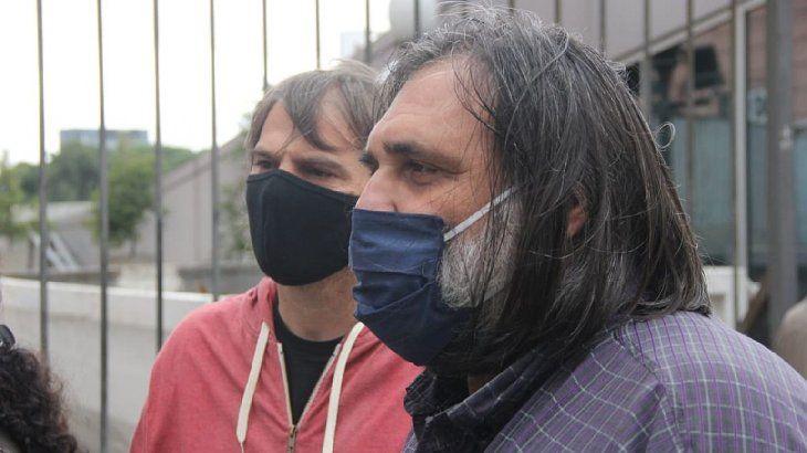 Roberto Baradel y Daniel Catalano