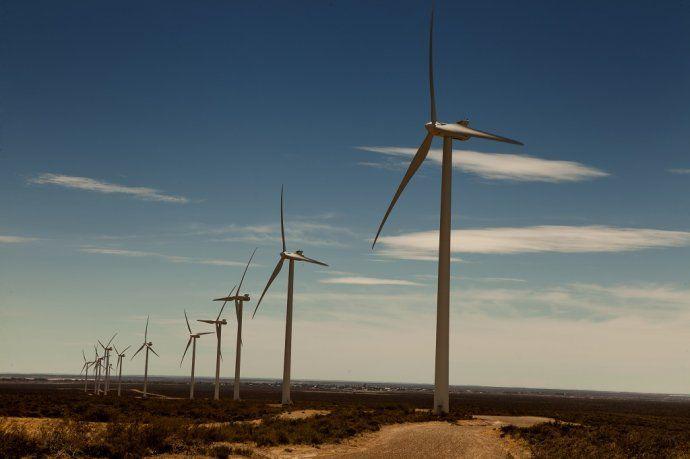 El Parque Eólico Rawson.