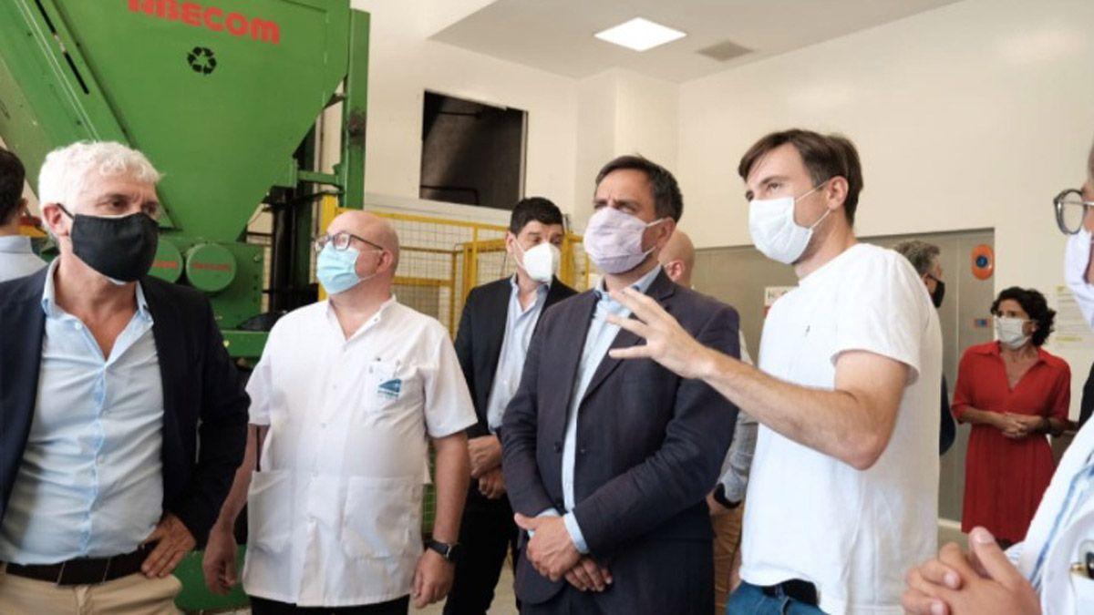 Misiones: Cabandié recorrió la planta de tratamiento de residuos patogénicos