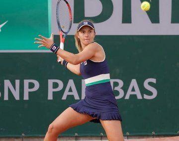 Nadia Podoroska ganó y quedó a un triunfo del cuadro principal de Roland Garros, el último Grand Slam de este 2020 distinto.