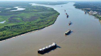 la agp inicia gestion estatal de la hidrovia parana por 12 meses