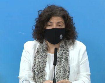 Diputados: convocan a Vizzotti para explicar la situación epidemiológica del país