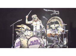 Black Sabbath. Tommy Cufletos, el nuevo integrante que desparramó energía desde la batería.