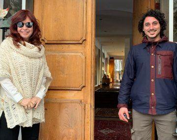 Cristina Fernández de Kirchner grabó el audio en su casa