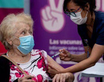 En Chile, el 72,3% de la población está inmunizada contra el coronavirus.