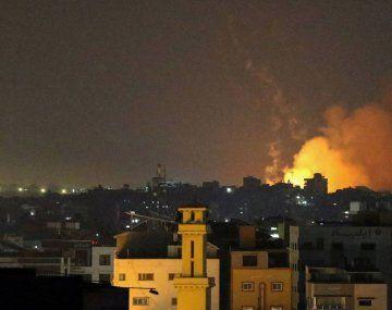 Irael bombardeó Gaza el viernes por la noche.