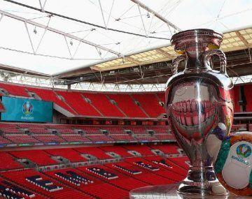 El estadio Wembley albergará a 60.000 hinchas en semifinales y final de la Eurocopa