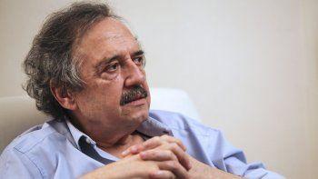 alfonsin advirtio que la derecha puede promover corridas cambiarias y aumentos de precios