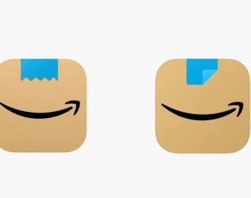 Amazon cambió su logo.