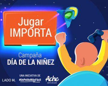 Jugar Importa: la campaña de concientización sobre el cáncer infantil