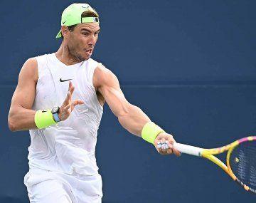 Tras bajarse de Toronto, Nadal anunció que tampoco jugará en Cincinnati.