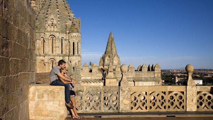 Ieronimus. Las torres de la Catedral ofrecen una vista única de Salamanca.