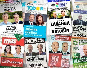 Los fondos a repartir entre partidos políticos se realiza en base a la cantidad de votos obtenidos en las elecciones 2019.