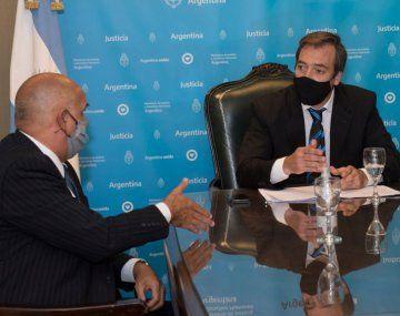 Carlos Rívolo y Martín Soria.