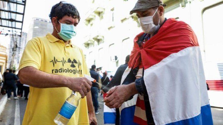 Paraguay alcanza el 100% de ocupación de camas de terapia intensiva por Covid-19