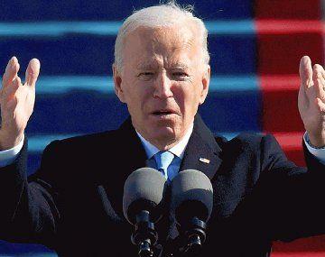 Joe Biden proyectó vacunar al 70% de la población adulta