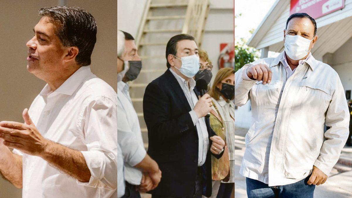 """Reacción. El chaqueño Jorge Capitanich instó a """"escuchar el mensaje de la ciudadanía"""", tras la derrota en las PASO: Gerardo Zamora, Ricardo Quintela, dos ganadores de la elección que hablan de reasegurar los números."""