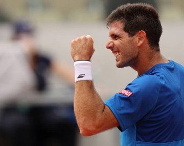Delbonis ya logró su mejor actuación en un Grand Slam.