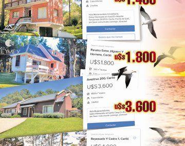 Cariló busca turistas: todavía hay casas sin alquilar para las fiestas