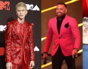 Conor McGregor y la pareja de Megan Fox se pelearon en la alfombra roja de los MTV Video Music Awards