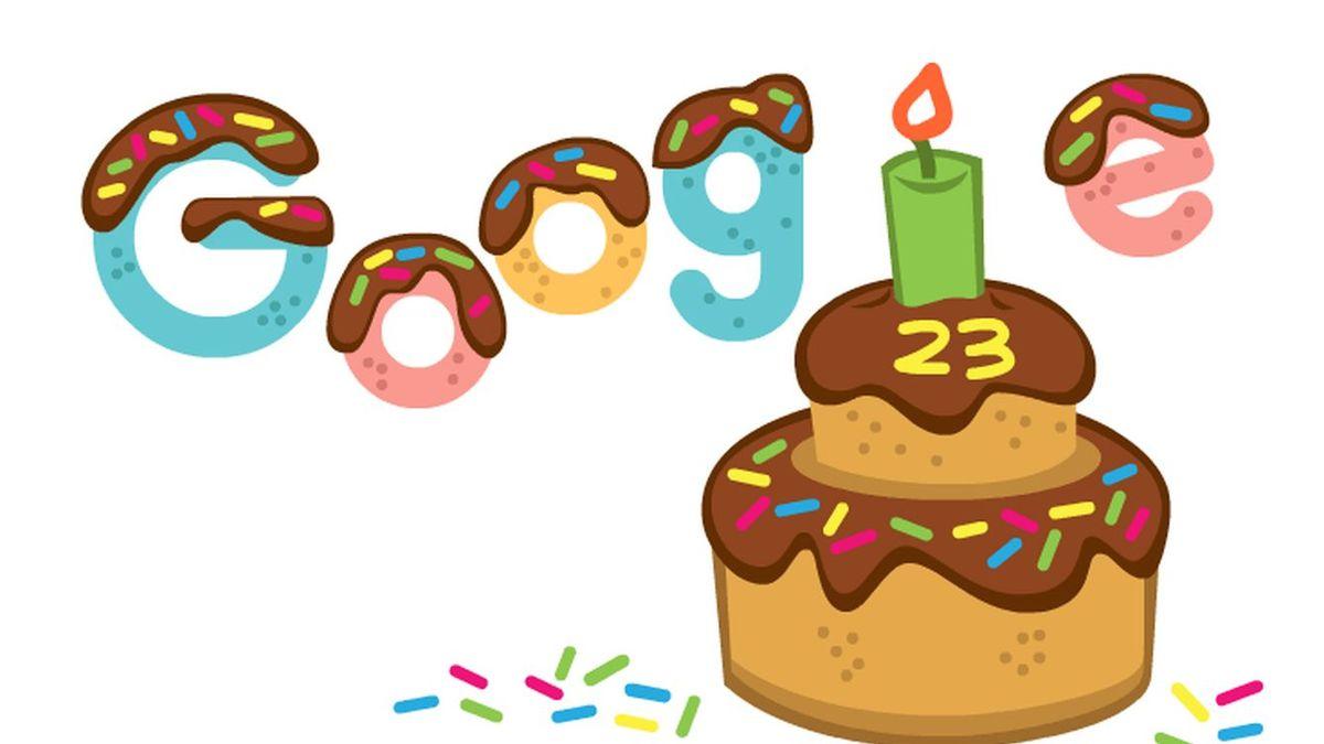 Google celebra 23 años: 5 datos que no conocías