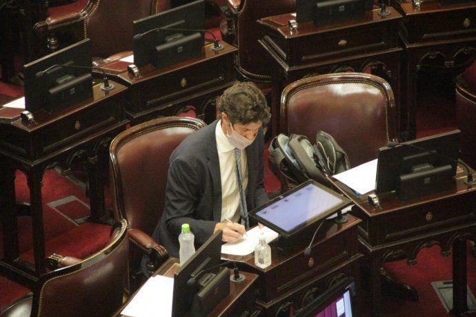 El senador de Juntos por el Cambio, Martín Lousteau,  criticó el Presupuesto 2021.