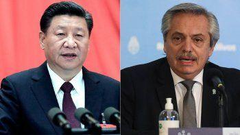 xi jinping invito a alberto fernandez a relevante feria de comercio mundial