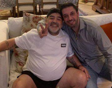 Maradona y Morla