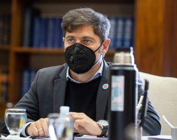 El gobernador Axel Kicillof se comunicó con el exjugador de fútbol, Matías Almeyda.