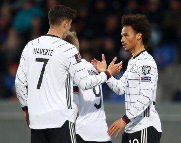 Alemania goleó y se encamina hacia Qatar 2022.
