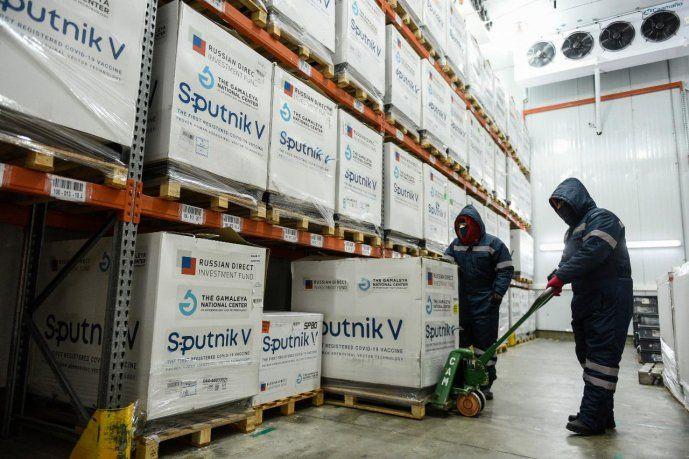 Este fin de semana se distribuirán más de 1 millón de dosis del componente 1 y 2 de Sputnik V