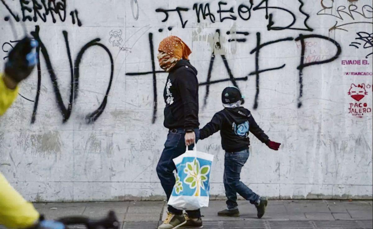 CONSECUENCIA. El fin del actual sistema de pensiones fue una de las principales banderas de las revueltas de 2019 en Chile.